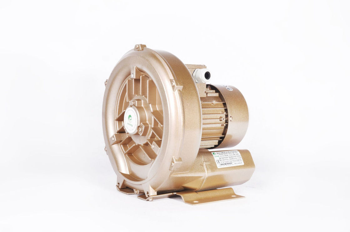 0.4 KW Ring Regenerative Air Blower , Gas Monitoring Side Channel Vacuum Pump