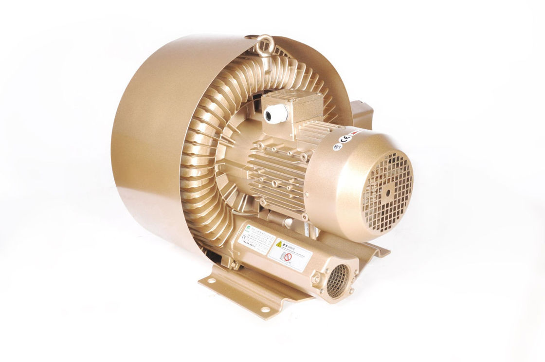 Low Noise Regenerative Vacuum Pump Blower For Air Knife Systems And Air Dryer 15kw